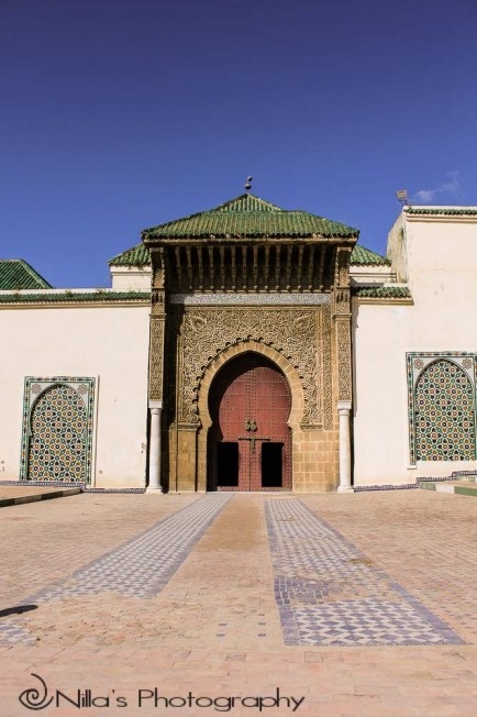 Moulay Ismail Mausoleum, Meknès, Morocco, Africa