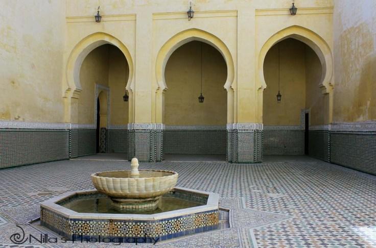 Moulay Ismail Mausoleum, Meknès, Morocco, Africa