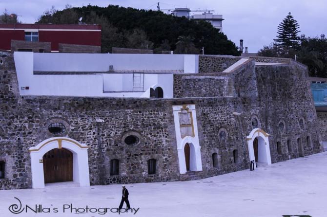Plaza de Armas, Royal Walls, Ceuta, Spain, Morocco, Africa