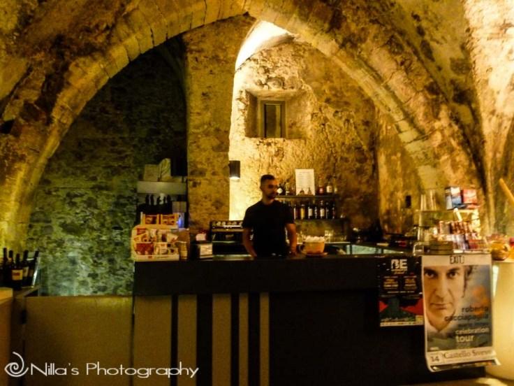 candle festival, Norman castle, Cosenza, Calabria, Italy