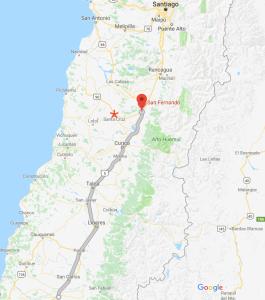 Chillán, San Fernando, Santa Cruz, Chile