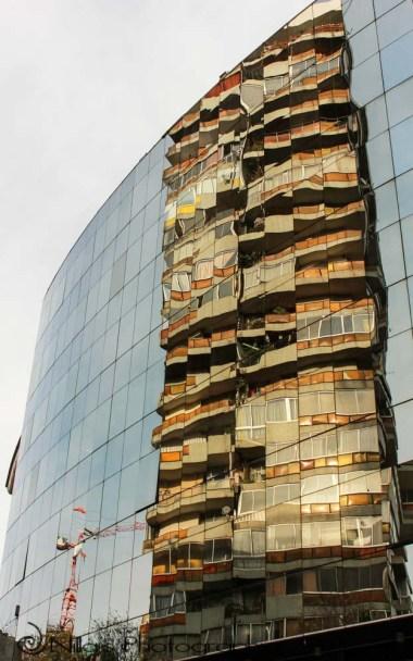 modern building, Santiago, Chile