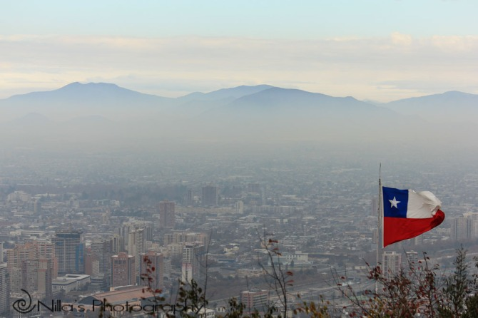 Cerro San Cristóbal, Santiago, Chile, South America