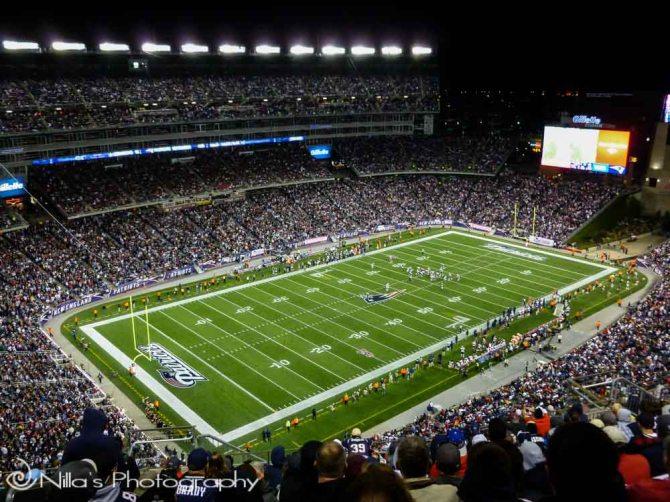 Gillette Stadium, Patriots, Cowboys, Foxborough, Massachusetts, USA