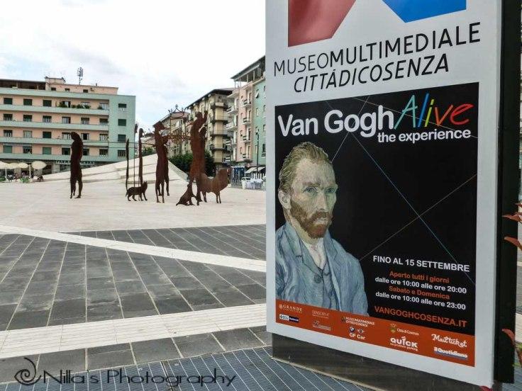 Van Gogh Alive, Cosenza, Calabria, Italy