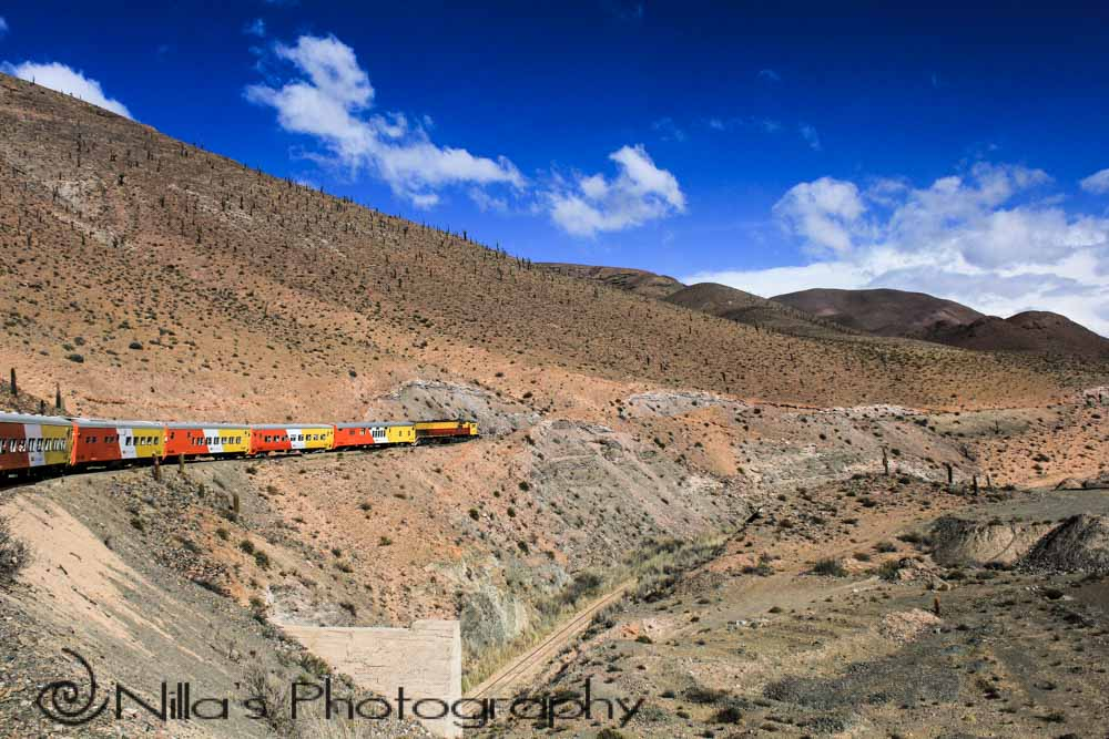 Spectacular Tren a las Nubes, Argentina's far Northwest