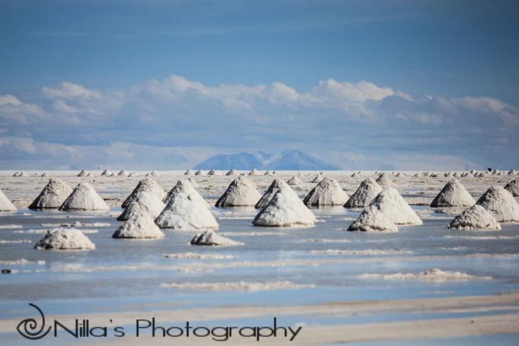 Salt mine, Salar de Uyuni, Bolivia, South America