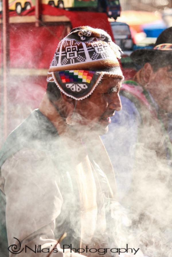 Shaman, sucre, Bolivia, South America