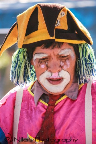 clown, Sucre, Bolivia, South America