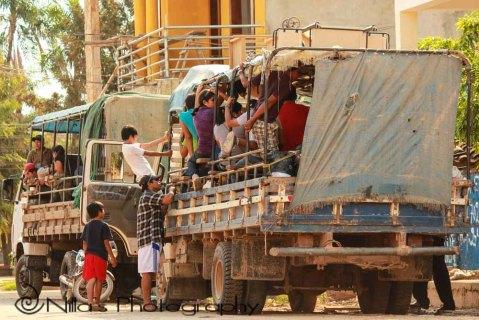 Lorry, Trinidad, Bolivia, South America