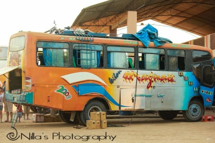 bus, Trinidad, Bolivia, South America