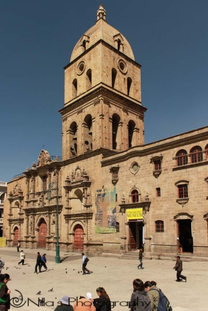 San Fransisco Church, La Paz, Bolivia, South America