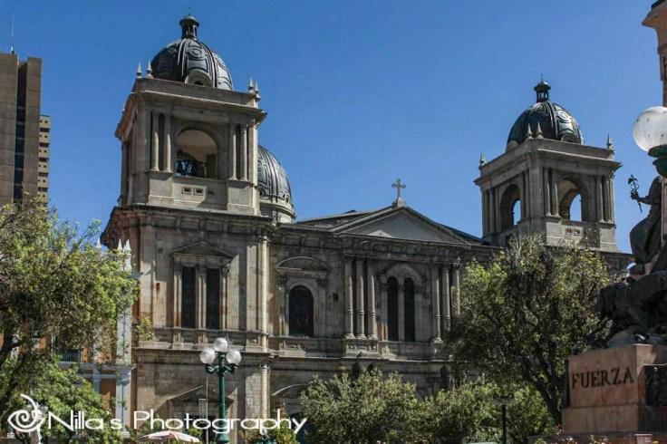 Cathedral, La Paz, Bolivia, South America