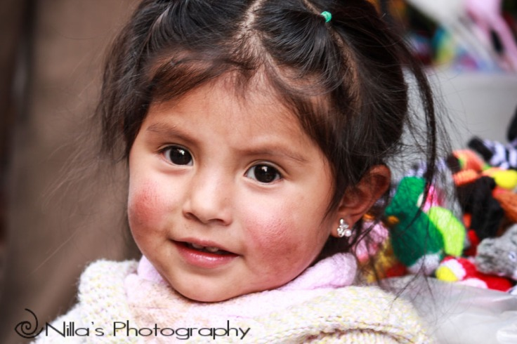 Child, La Paz, Bolivia, South America