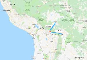 Santa Cruz de la Sierra, Trinidad, Bolivia, South America