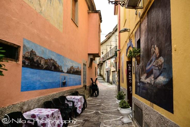 Diamante Murales, Calabria, Italy
