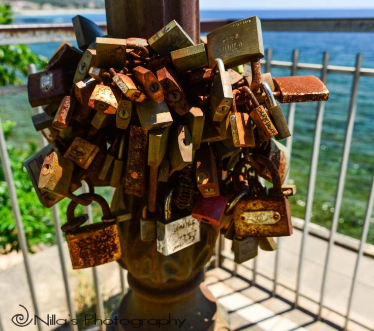 Locks, Diamante Murales, Calabria, Italy