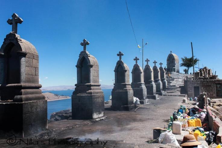 Cerro El Calvario, Copa Cabana, Lake Titicaca, Bolivia, South America