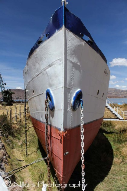 SS Coya, Lake Titicaca, Puno, Peru, South America