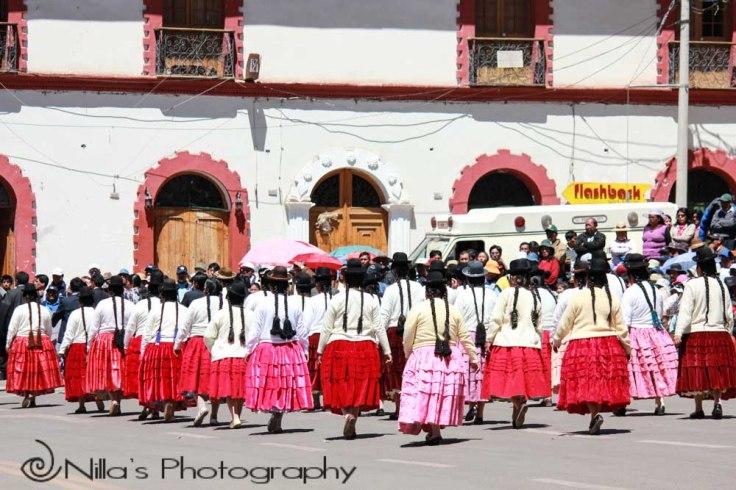 Cholitas, Puno, Peru, South America