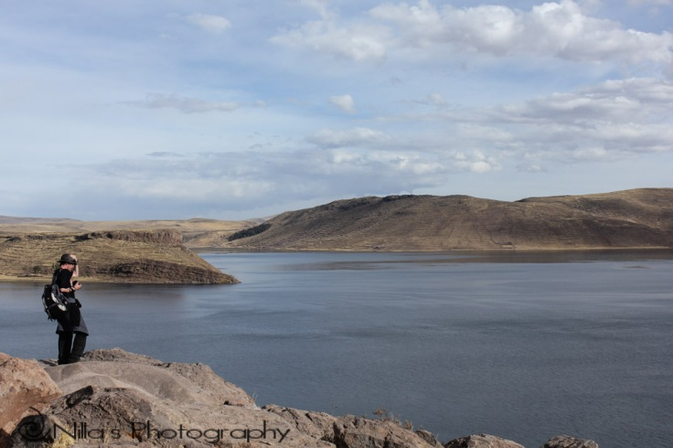 Sillustani Tombs, Lake Umayo, Peru, South America