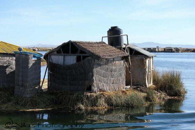 Uros Islands, Lake Titicaca, Puno, Peru, South America