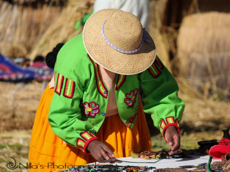 Uros Islands, Lake Titicaca, Puno, Peru, South America