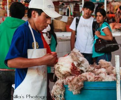 San Camilo Market, Arequipa, Peru, South America