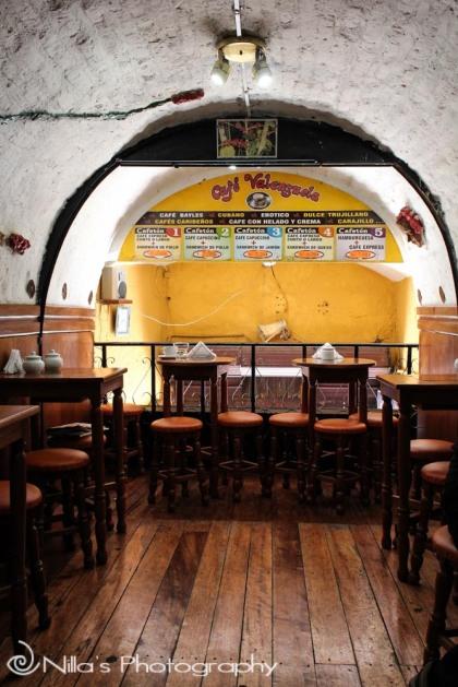 Valenzuela Cafe, Arequipa, Peru, South America