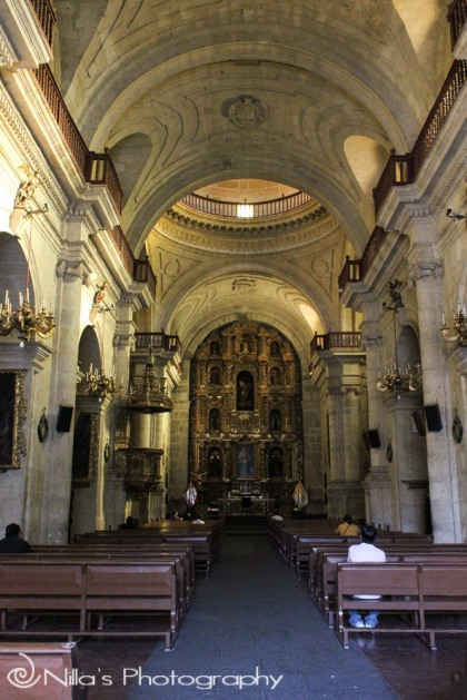 La Compañía Church, Arequipa, Peru, South America