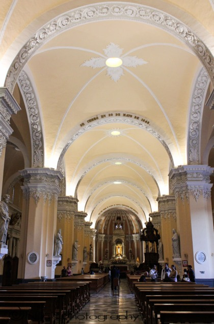 Basilica Cathedral, Arequipa, Peru, South America