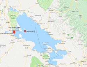 Uros, Taquile, Puno, Lakes Titicaca, Peru, South America