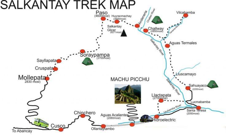 Cusco, Salkantay, Machu Picchu, Peru, South America, trekking