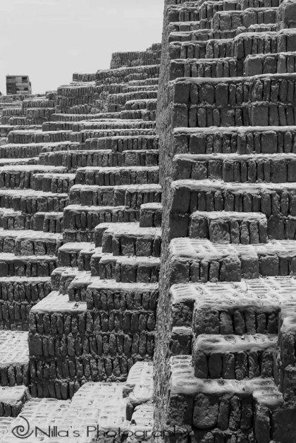 Huaca Pucllana ruins, Lima, Peru, South America