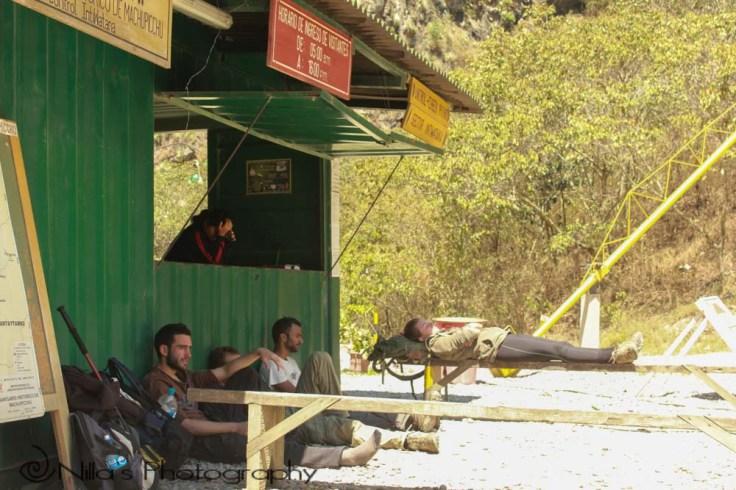 Hidroelectrica, Salkantay, Machu Picchu, Peru, South America, trekking