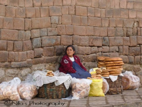 Inca Wall, Cusco, Cuzco, Peru, South America
