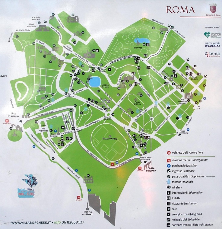 Villa Borghese, Rome, Italy, Europe