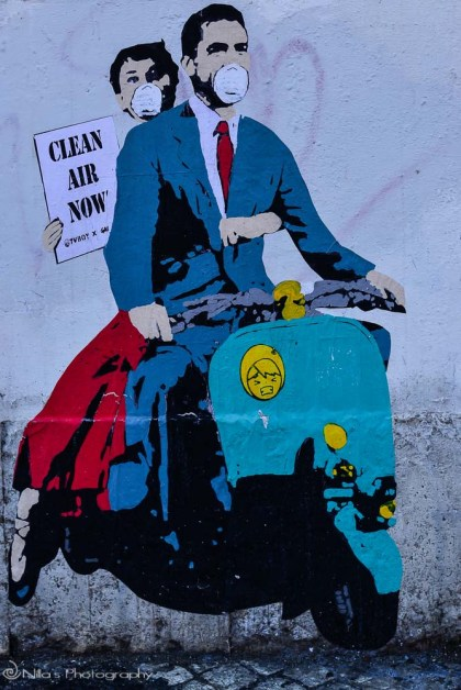 Street art, Rome, Italy Europe