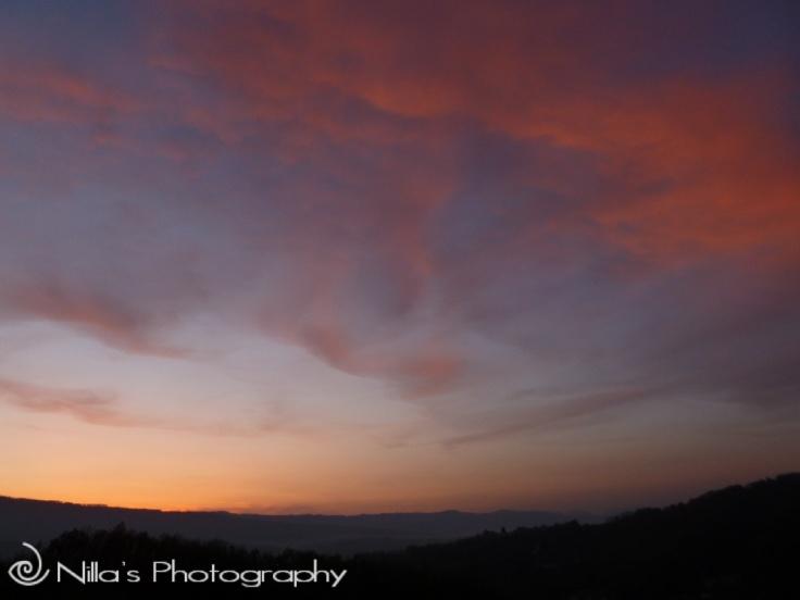 sunset, Le Manche, Rogliano, Calabria, Italy, Europe