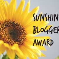 Sunshine Blogger Award Nomination No. 3
