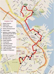 Freedom Trail, Boston, Massachusetts, USA, North America