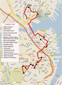 Freedom Trail, Boston, Massachusetts, USA, North America