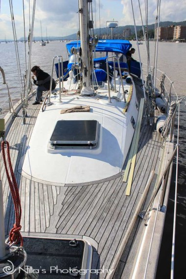 yacht, Hudson River, New York, USA, North America