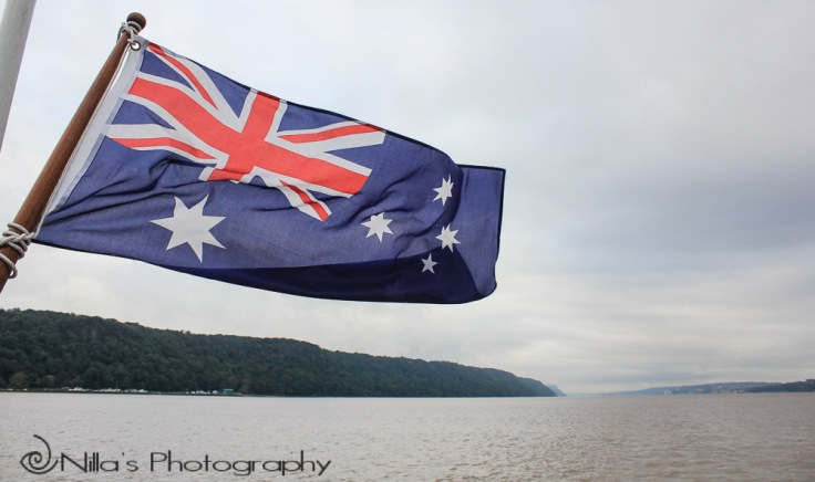 Australian flag, New York, USA, North America