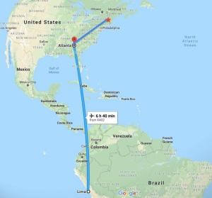 Lima, Peru, South America, New York, North America