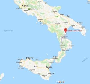 Roseto Cap Spulito, Calabria, Italy, Europe