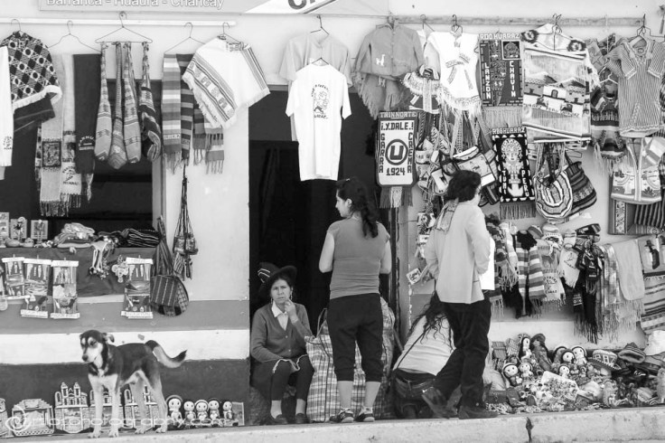 Local shop, Huaraz, Peru, South America