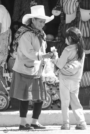 Locals, Huaraz, Peru, South America