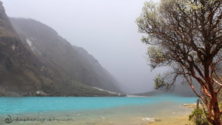 Llanganuco Lakes, Huascarán National Park, Huaraz, Peru, South America