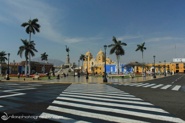 Plaza de Armas, Trujillo, Peru, South America